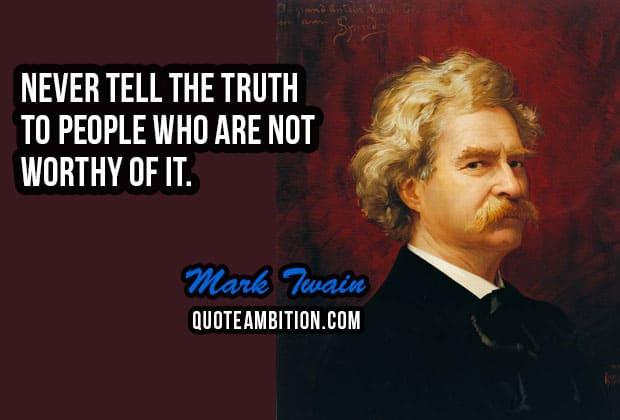 Top 80 Inspiring Mark Twain Quotes On Life