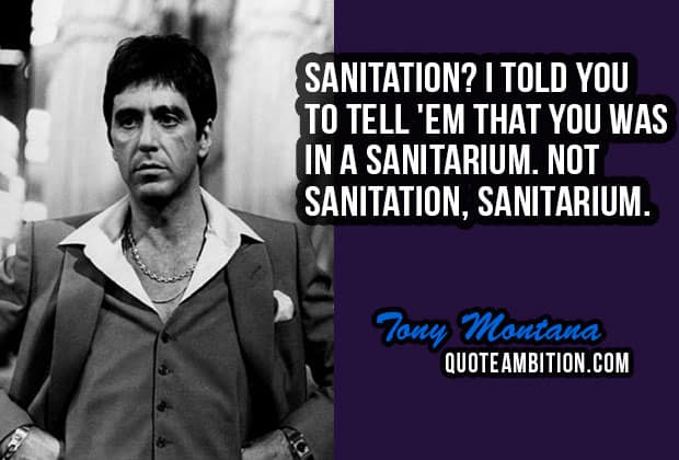 Scarface Quotes 30 Best Scarface Quotes By Tony Montana Scarface Quotes