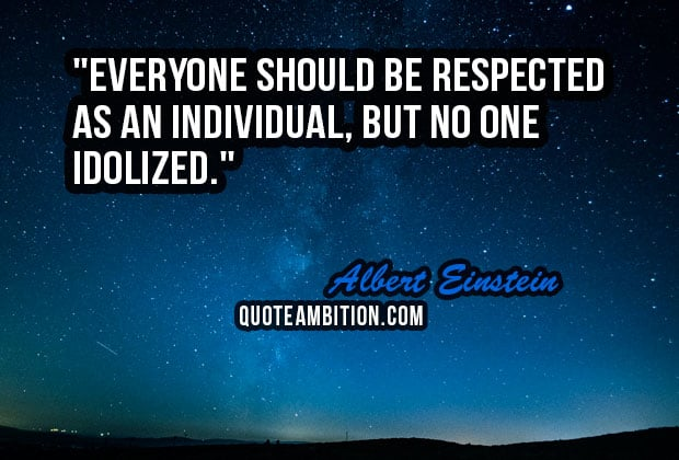 be respect