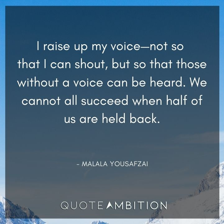 Inspirational Quotes for Women on Being Heard