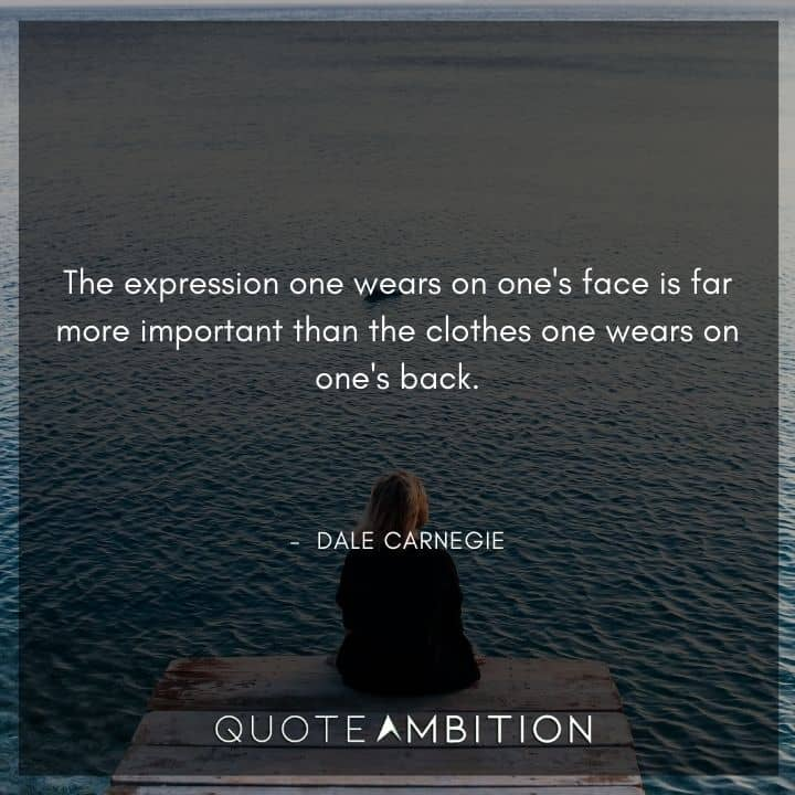 Dale Carnegie Quotes on Expression