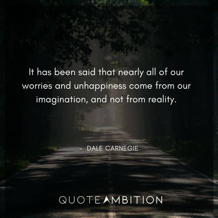 Dale Carnegie Quotes on Imagination
