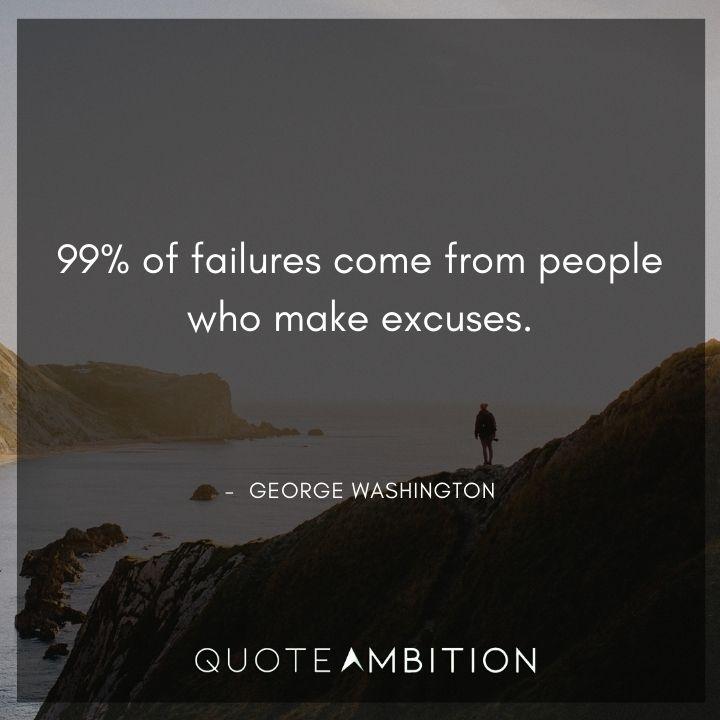 George Washington Quotes on Failure