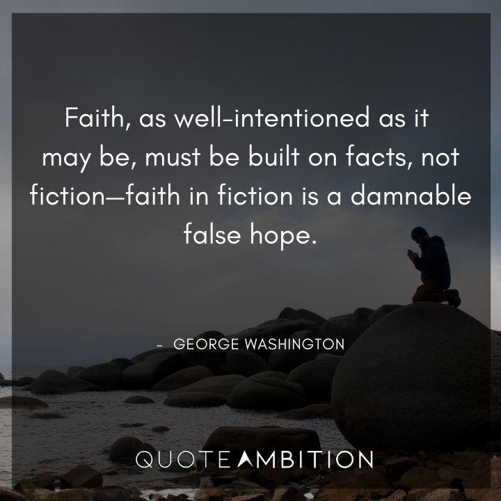 George Washington Quotes on Faith