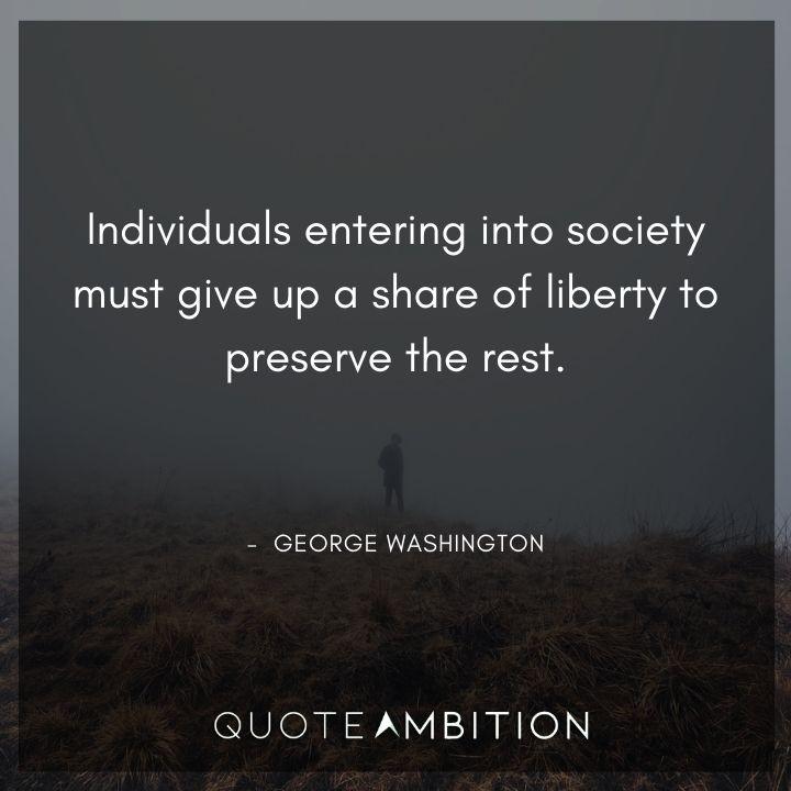 George Washington Quotes on Society
