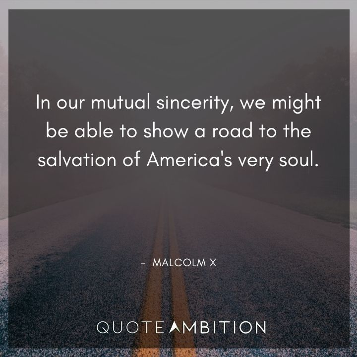 Malcolm X Quotes on Soul