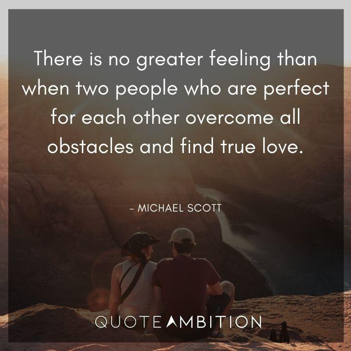 Michael Scott Quotes on True Love