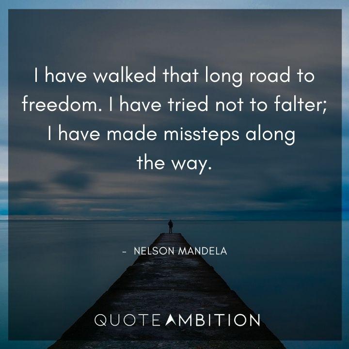 Nelson Mandela Quotes on Freedom
