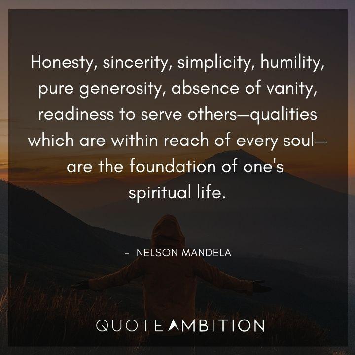 Nelson Mandela Quotes on Honesty