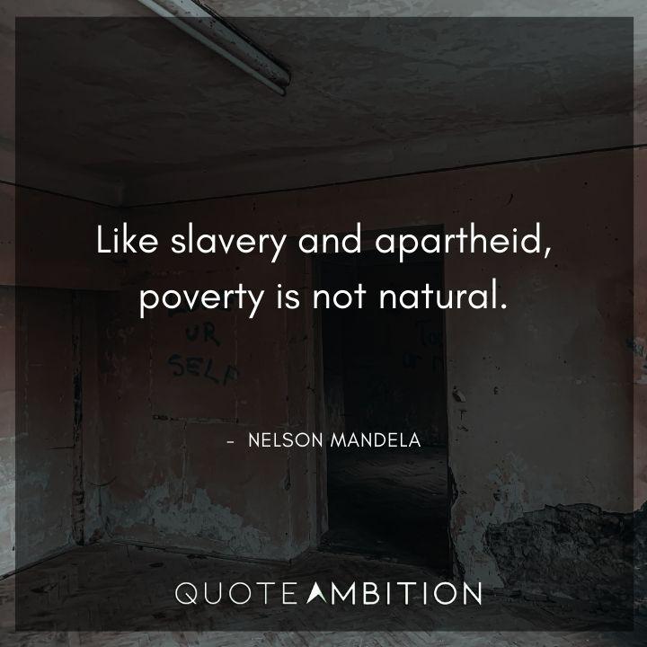 Nelson Mandela Quotes on Poverty