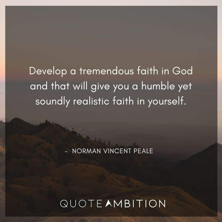 Norman Vincent Peale Quotes on Faith in God