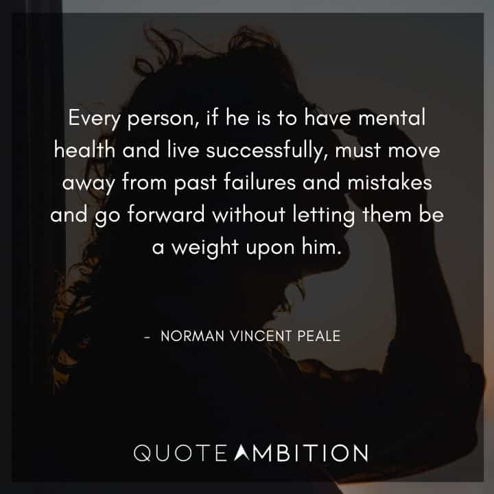 Norman Vincent Peale Quotes on Living Successfully