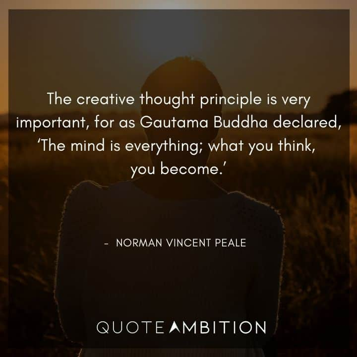 Norman Vincent Peale Quotes on Mind