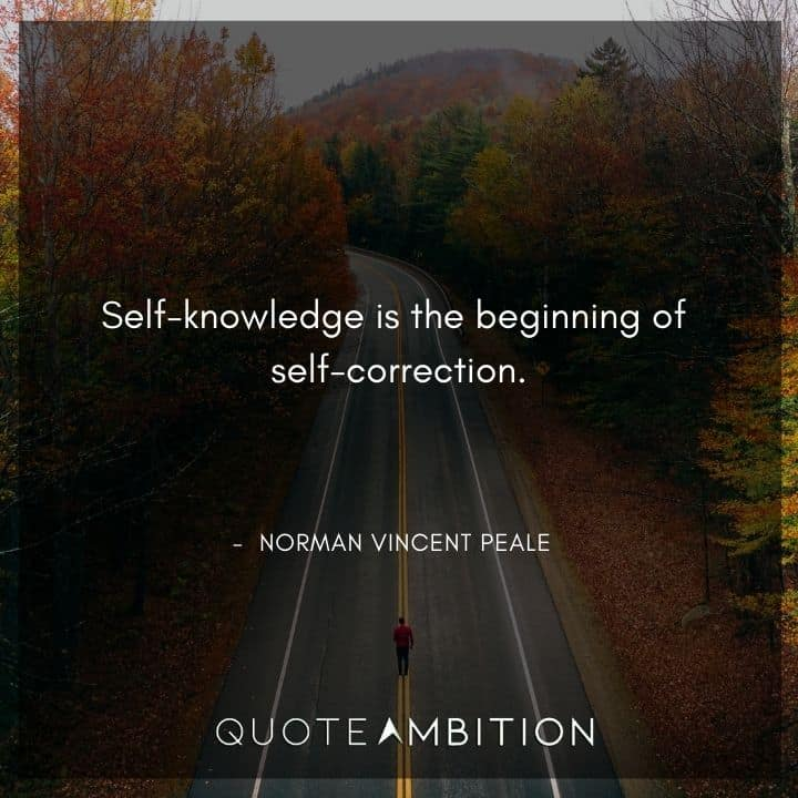 Norman Vincent Peale Quotes on Self-Knowledge