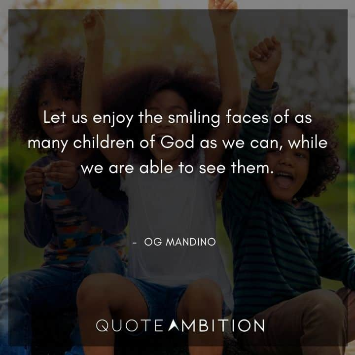 Og Mandino Quotes About God