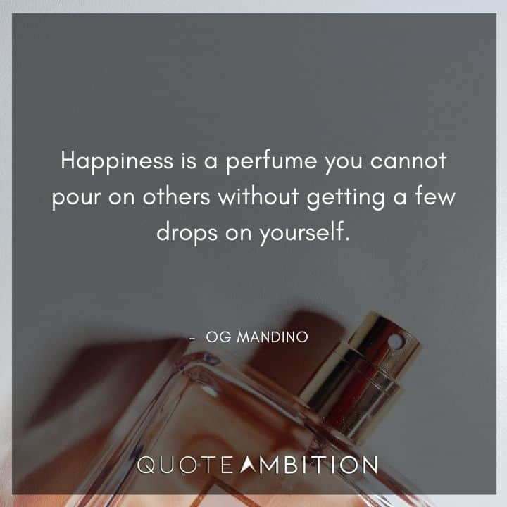 Og Mandino Quotes About Happiness