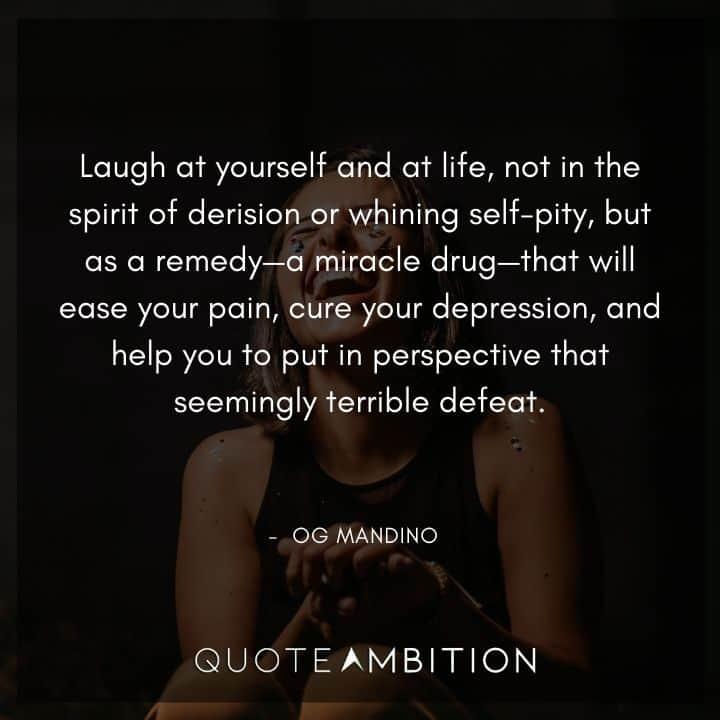 Og Mandino Quotes on Laugh