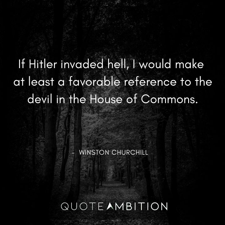 Winston Churchill Quotes About Hitler