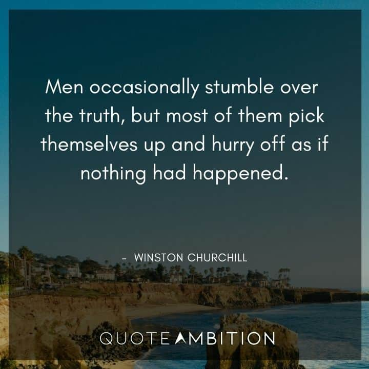 Winston Churchill Quotes on Truth