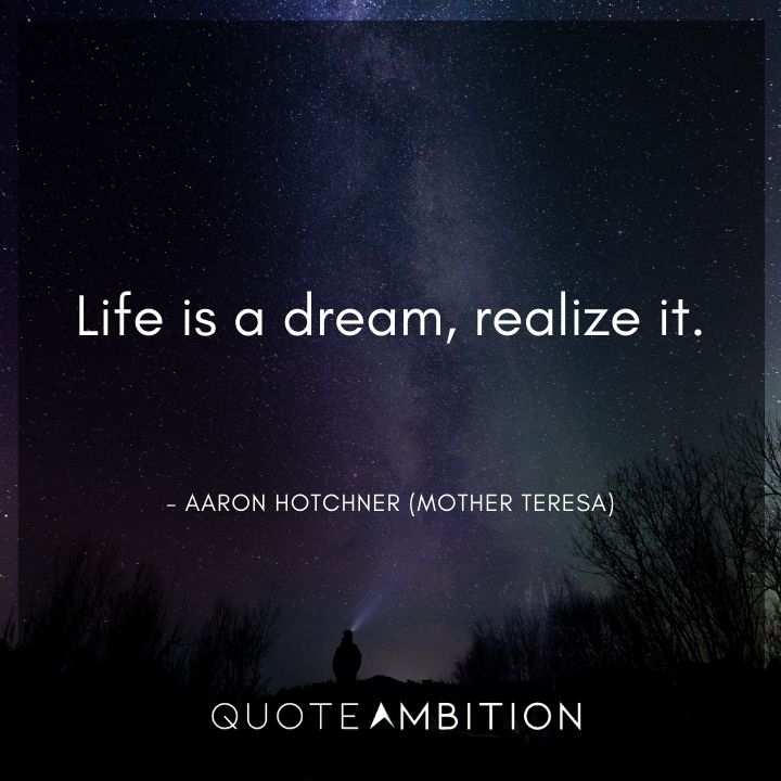 Criminal Minds Quote - Life is a dream, realize it.