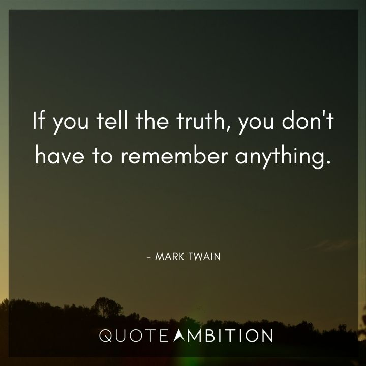Mark Twain Quotes About the Truth