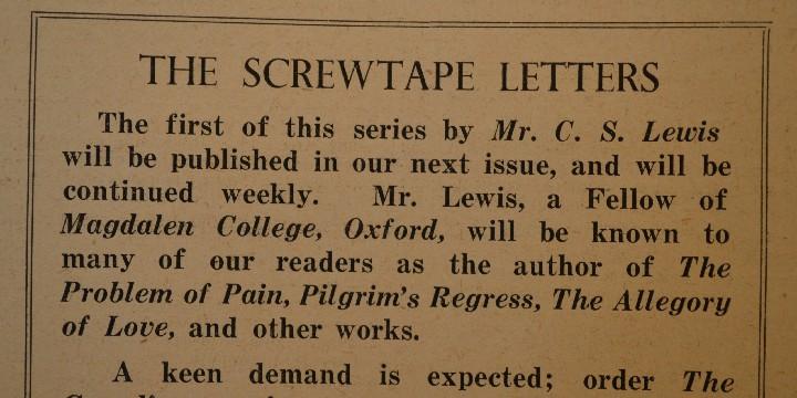 The Screwtape Letter Quotes